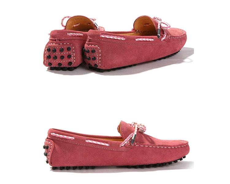 2011新款女士磨砂皮豆豆鞋