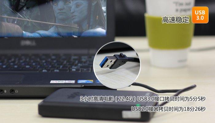 爱国者移动硬盘内置的sram高速缓存,可提高整体的工作效率
