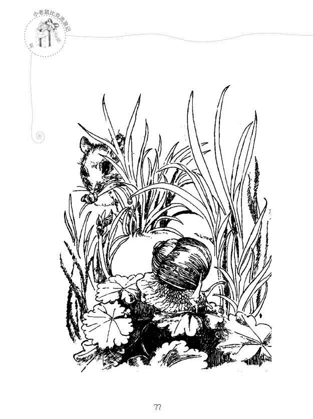 丛林卡通简笔画