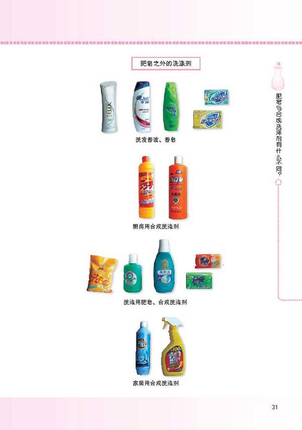 肥皂与合成洗涤剂有什么不同?(2) - 第一章 洗涤