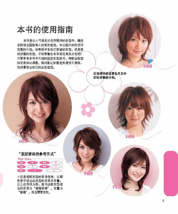 在线阅读《适合不同脸型的发型(圆脸型)》