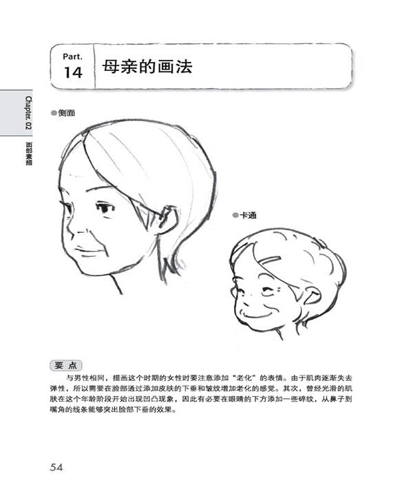 在线阅读《日本超级漫画课堂——人物的画法》
