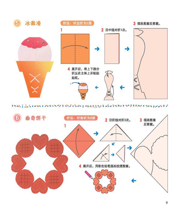 甜点和水果(4) - 《小小剪纸2》第一部分