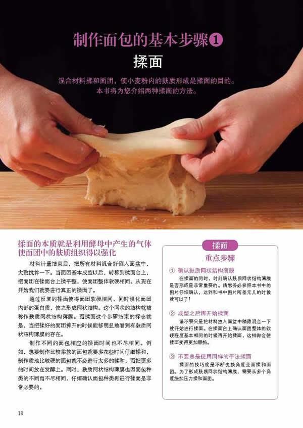 制作面包的基本步骤1揉面(1)