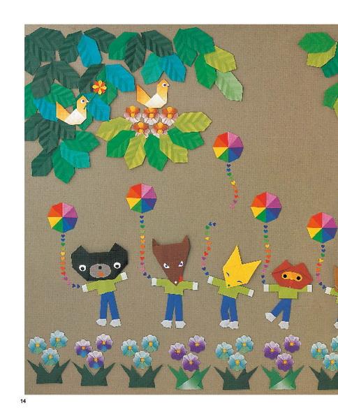 可爱的小动物折纸:精彩选载一(14)